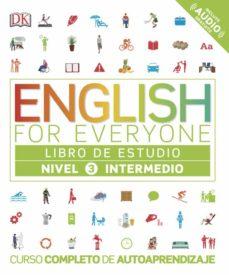 english for everyone (ed. en español) nivel intermedio 3 - libro de estudio-9780241281680