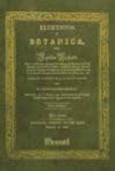 facsímil: elementos de botánica. tomo i-aquiles richard-9788496909847
