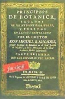 facsímil: principios de botanica-9788498620283