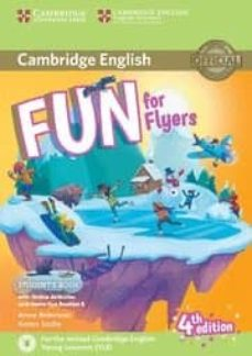 fun for flyers student s book with online activities with audio and home fun booklet 6-9781316617588