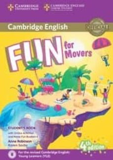 fun for movers student s book with online activities with audio and home fun booklet 4-9781316617533
