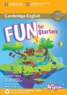 fun for starters student s book with online activities with audio and home fun booklet 2-9781316617465