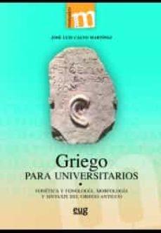 griego para universitarios-9788433859761