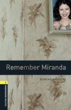 oxford bookworms library 1. remember miranda (+ mp3)-9780194637442