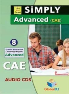 simply advanced cae 10 practice tests audio cds-9781781644140