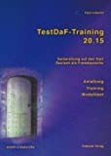 testdaf-training 20.15 text- und übungsbuch, m. 2 audio-cds-klaus lodewick-9783930861606