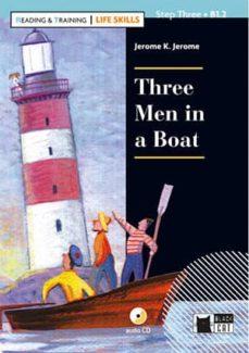 three men in a boat. book + cd (life skills)-9788468250267