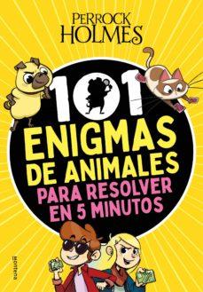 101 enigmas de animales para resolver en 5 minutos-isaac palmiola-9788418318948