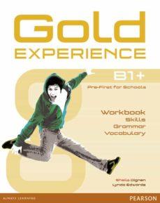 gold experience language and skills workbook b1+-9781292159485