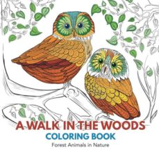 a walk in the woods coloring book-9781635892314