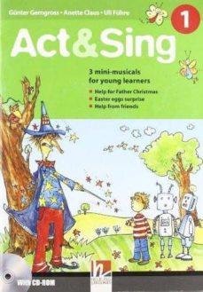 act sing 1+cd nivel :  a1+a2-9783852722283