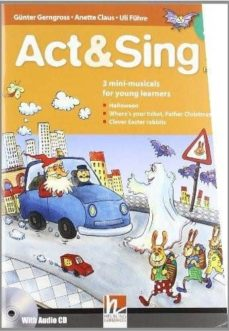 act sing 2+cd nivel :  a1+a2-9783852722290