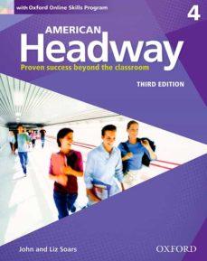 american headway: level 4: book+oxford online skills program pack-9780194726344