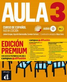 aula 3: libro del alumno + cd (b1.1) edicion premium. curso de español (nueva edicion)-9788417710248