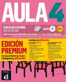 aula 4: libro del alumno + cd (b1.2) edicion premium. curso de español (nueva edicion)-9788417710255