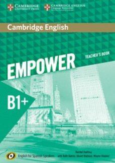 cambridge english empower for spanish speakers b1+ teacher s book-9788490362839