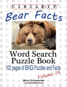 circle it, bear facts, word search, puzzle book-9781938625329
