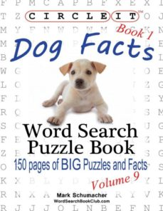 circle it, dog facts, book 1, word search, puzzle book-9781938625213