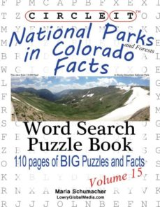 circle it, national parks and forests in colorado facts, word search, puzzle book-9781938625312