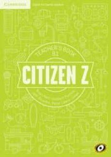 citizen z b1 teacher s book-herbert puchta-9788490363140