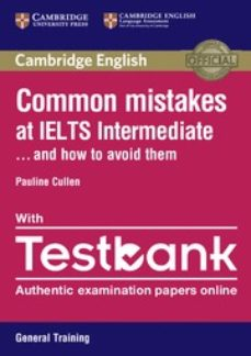 common mistakes at ielts intermediate paperback with ielts general training testbank-9781316629420