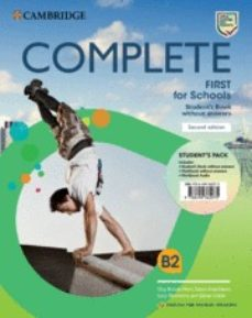 complete first for schools for spanish speakers student s pack (student s book without answers and workbook without answers and-9788490362075