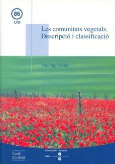 comunitats vegetals: descripcio i classificacio-josep vigo bonada-9788447528912