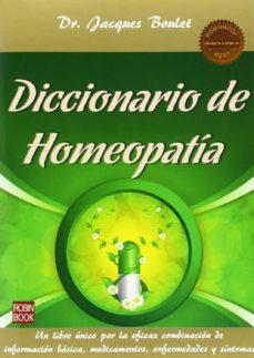 diccionario de homeopatia-jacques boulet-9788499173405