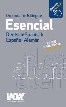 diccionario esencial alemán-español/deutsch-spanisch (3ª ed.)-9788499742014