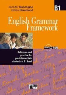 english grammar framework. book + cd-rom (b1)-9788853008206