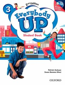 everybody up : level 3: student book with audio cd pack: level 3 : linking your classroom to the wider world-9780194107099