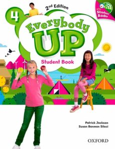 everybody up: level 4: student book with audio cd pack-9780194107105