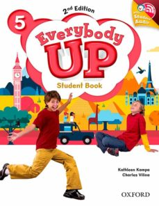 everybody up: level 5: student book with audio cd pack-9780194107112