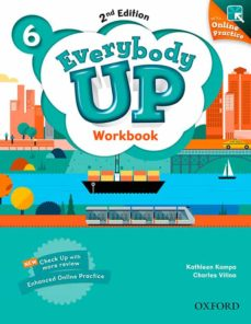 everybody up : level 6: workbook with online practice : linking your classroom to the wider world-9780194106436