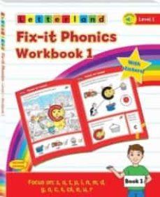 fix-it phonics - level 1 - workbook 1 (2nd edition)-lisa holt-9781782483793