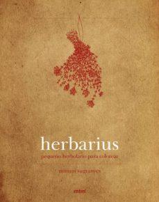 herbarius, pequeño herbolario para colorear-9788415278856