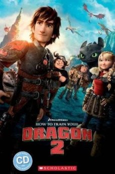 how to train your dragon 2 (book + cd) (level 2)-9781910173831