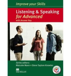 improve your skills for advanced listening & speaking student s book pack with macmillan practice online and answer key-9780230462847