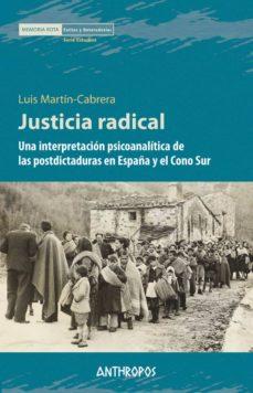 justicia radical-luis marti-cabrera-9788416421381