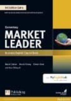 market leader 3rd edition extra elementary coursebook with dvd-rom and myenglishlab pin pack-9781292134741
