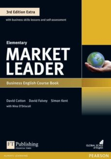 market leader 3rd edition extra elementary coursebook with dvd-rom pin pack-9781292134758