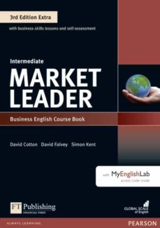 market leader 3rd edition extra intermediate coursebook with dvd-rom and myenglishlab pin pack-9781292134765
