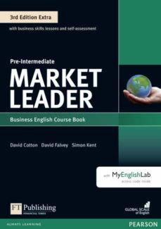 market leader 3rd edition extra pre-intermediate coursebook with dvd-rom and myenglishlab pin pack-9781292134789