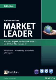 market leader pre-intermediate flexi course book 1 pack-9781292126128