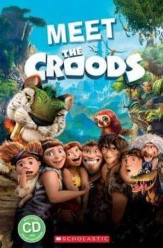 meet the croods (book + cd)-9781910173770