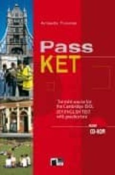 pass ket: the mini-course for the cambridge esol key english test with practice test-amanda thomas-9788877549204