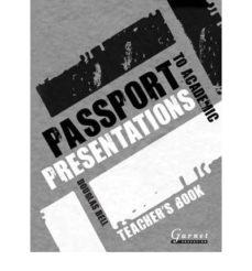 passport to academic presentations teacher s book-9781859644157