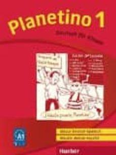 planetino 1. glossar deutsch-spanisch / glosario alemán-español: deutsch für kinder.deutsch als fremdsprache-9783193915771