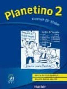 planetino 2: deutsch für kinder.deutsch als fremdsprache / glossar deutsch-spanisch glosario alemán-español-9783193915788
