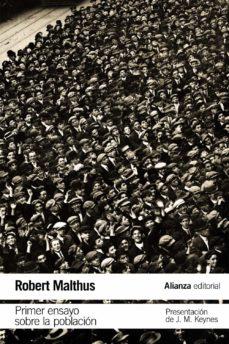 primer ensayo sobre la población-thomas robert malthus-9788491045458